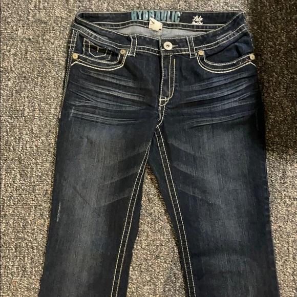 Hydraulic Lola Bootcut blue jeans size 15/16